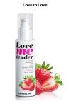 Huile de massage fraise 100ml